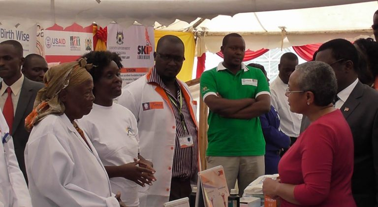 Her Excellency The first Lady Margaret Kenyatta Visit Birth Wise Stand in Beyond Zero Campaign launch in Bungoma County