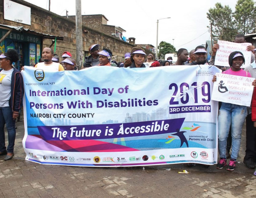 Support to People with disability